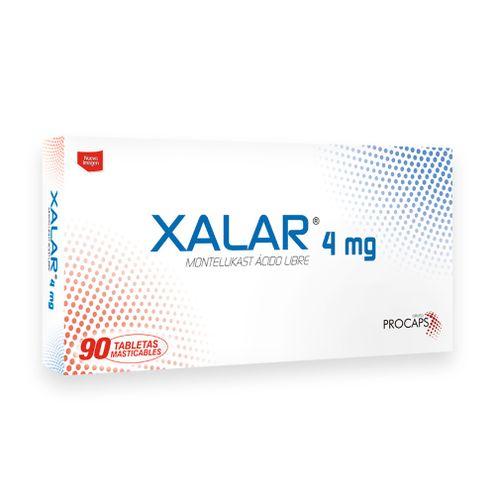 Comprar Xalar 4mg Caja X 90 Tabletas Masticables