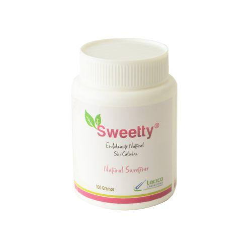 Comprar Endulzante Sweetty Polvo X 100g