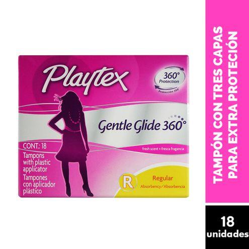 Comprar Tampones Playtex Gente Glide Regular Con Aplicador X 18und - Playtex Tampones Sport Regular X18und Pl