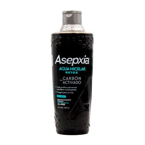 Comprar Agua Micelar Asepxia Detox Carbon Activo 400ml