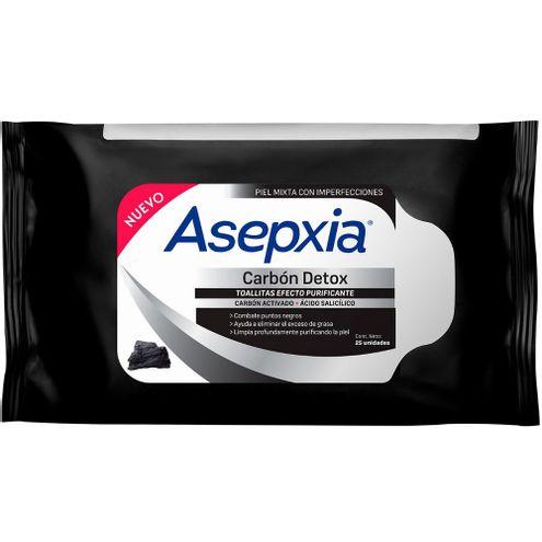 Comprar Asepxia Toallitas Facial Antiacne Carbon 25und