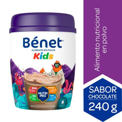 Comprar Benet Kids Polvo Chocolate X 240g