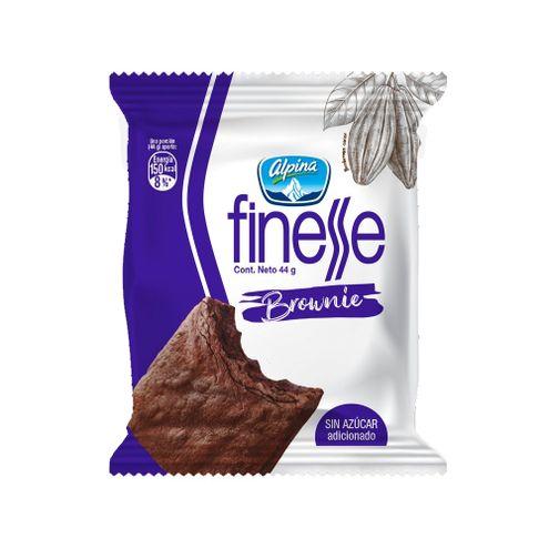 Comprar Brownie Finesse Sin Azucar Adicionada X 44g