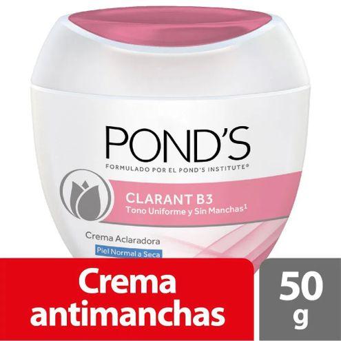 Comprar Crema Facial Ponds Clarant B3 Piel Normal A Seca X 50g