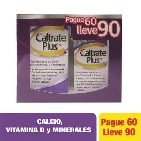 Comprar Caltrate Plus Pague 60 Lleve 90