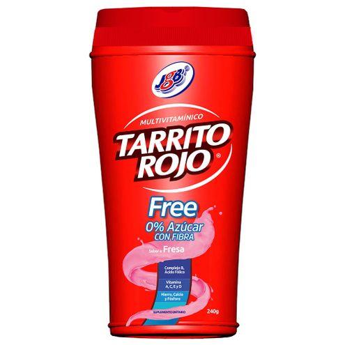 Comprar Tarrito Rojo Jgb 0% Azucar Fresa X 240g