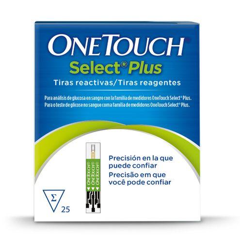 Comprar Tiras Onetouch Select Plus Flex X 25und