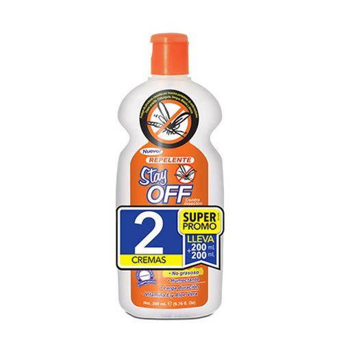 Comprar Repelente Stay Off Crema Adultos 2und X 200ml