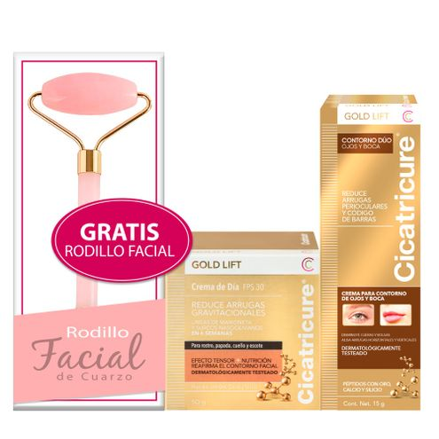 Comprar Crema Cicatricure Gold + Crema Contorno + Obsequio