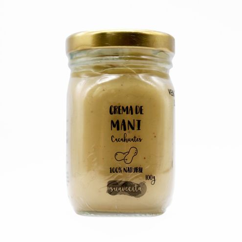 Comprar Crema De Mani Cacahuates X 100g