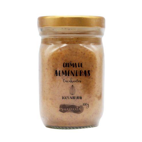 Comprar Crema De Almendras Cacahuates X 100g