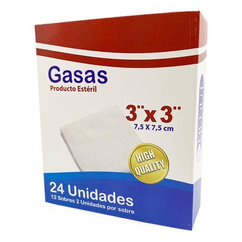Comprar Gasa Begut Esteril 3x3 Pulgadas X 24und