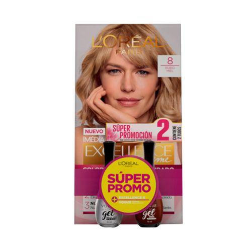 Comprar Excellence 8 Rubio Miel + 2 Esmalaltes Vogue