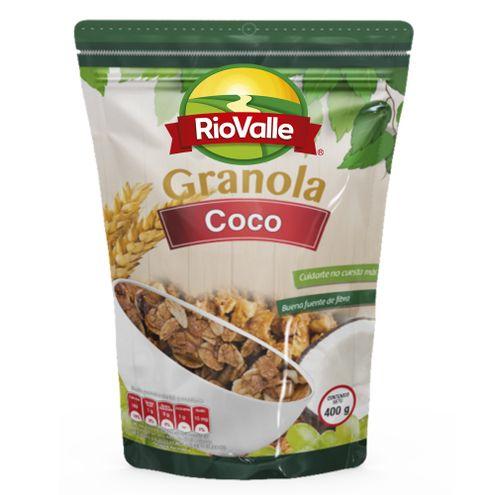 Comprar Granola Riovalle Coco X 400g