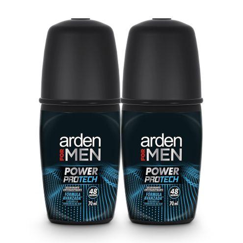 Comprar Desodorante Arden For Men Power Protech Roll-On X 2und