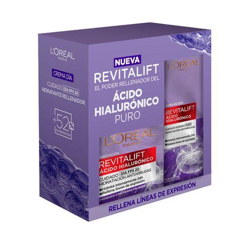 Comprar Pack Crema Loreal Revitalift Dia + Crema Ojos X 15ml