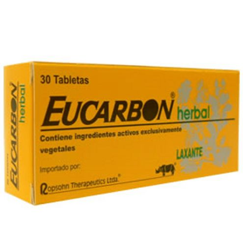 Comprar Eucarbon Herbal Caja X 30 Tabletas - Eucarbon Herbal 30tab