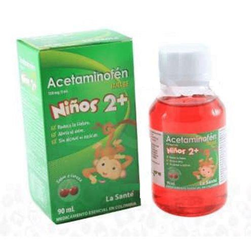 Comprar Acetaminofen Ninos La Sante Jarabe 90ml