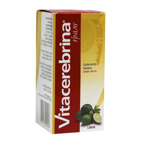 Comprar Vitacerebrina Finlay Limon Jarab 180ml