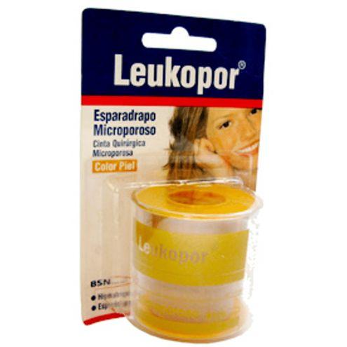 Comprar Cinta Microporosa Piel 1 X 5yds Leukopor - Cinta Microporosa Piel 1 X5yds Leukopor
