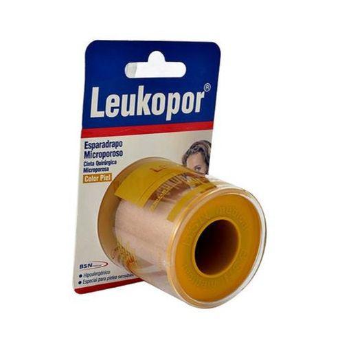 Comprar Cinta Microporosa Piel 2 X 5yd Leukopor - Cinta Microporosa Piel 2x5yds Leukopor