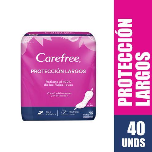 Comprar Protectores Carefree Largos X 40und