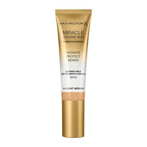 Comprar Base Max Factor Miracle Second Skin 4 Light Medium
