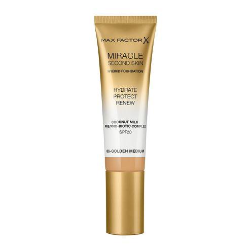Comprar Base Max Factor Miracle Second Skin 06 Golden Medium