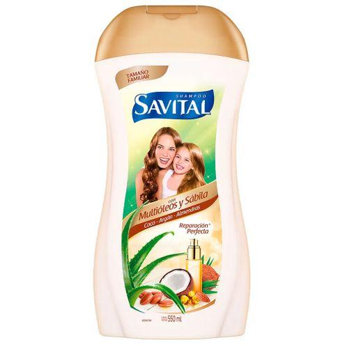 Comprar Shampoo Savital Multioleos X 550ml