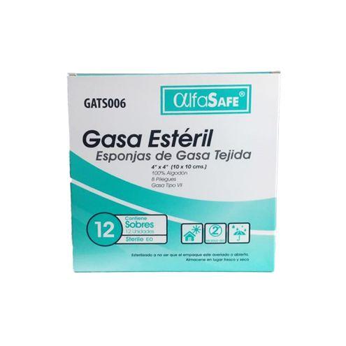 Comprar Gasa Alfasafe Esteril Tejida 4x4 X 24und