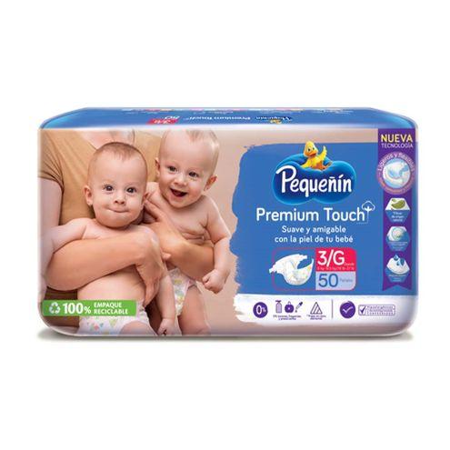 Comprar Pañales Pequeñin Premium Touch Etapa 3 X 50und