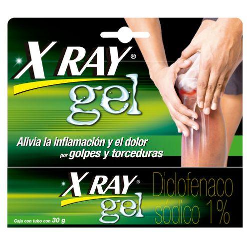 Comprar Xray Gel Inflamacion Y Dolor Muscular Articulaciones X 30g