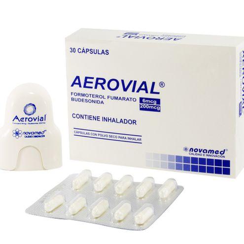 Comprar Aerovial 6/200mcg X 30 Capsulas Inhalar