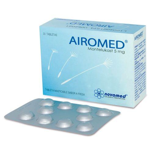 Comprar Airomed 5mg Sabor Fresa X 30 Tableta Masticable