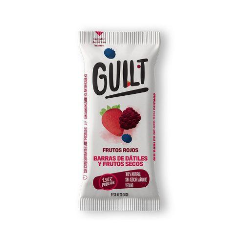 Comprar Barras Guilt Datiles Frutos Rojos 6 X 30g