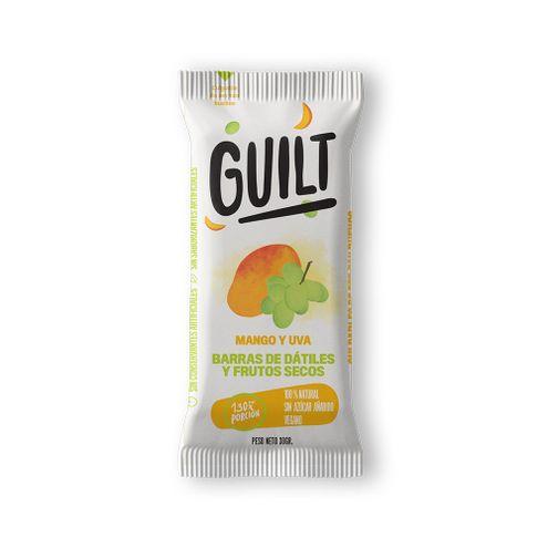 Comprar Barras Guilt Datiles Mango/Uva 6 X 30g