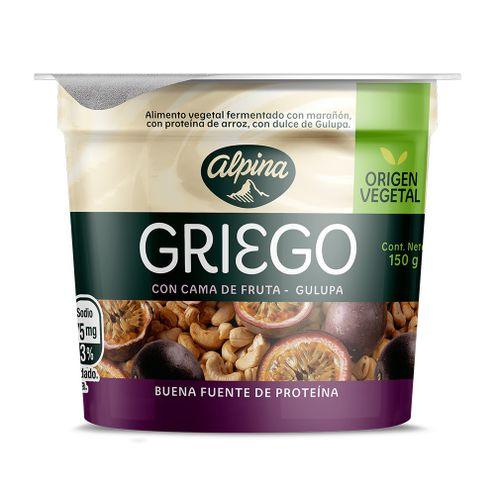 Comprar Yogurt Alpina Griego Gulupa X 150g