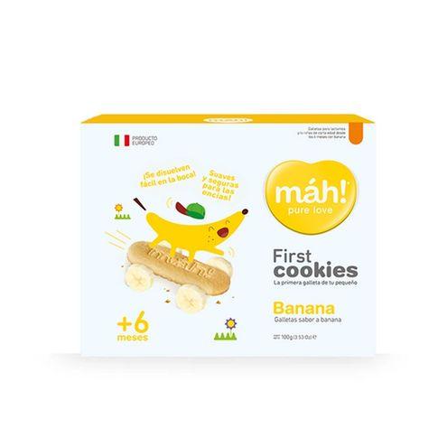 Comprar Galletas Mah! First Banana + 6 X 100g