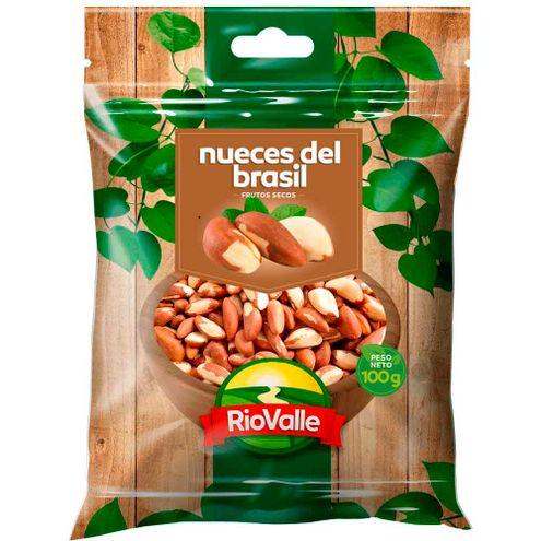 Comprar Nueces Riovalle Del Brasil X 100g