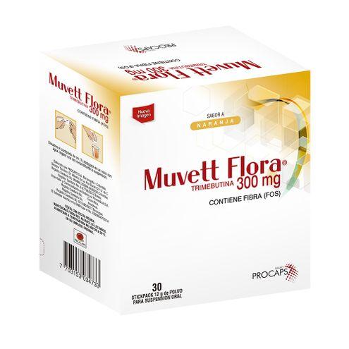 Comprar Muvett Flora Suspension Oral 300mg X 30ml - Muvett Flora Suspencion Oral 300mg X 30ml