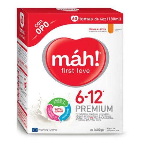 Comprar Formula Infantil Mah! Premium 6-12 Meses X 1600g
