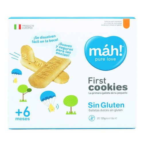 Comprar Galletas Mah! First Sin Gluten + 6 X 125g