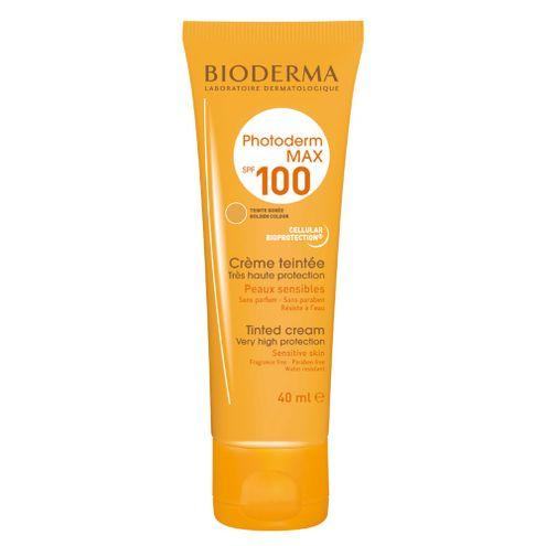 Comprar Bioderma Photoderm Creme Teinte Max Spf 100 Protector Solar Para Piel Seca 40ml