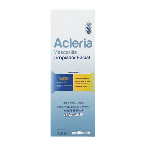 Comprar Mascarilla Acleria Limpiadora Facial Mate X 150g - Mascarilla Acleria Limpiadora Facial Mate X 50g