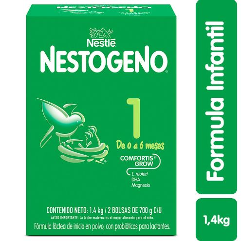 Comprar Formula Infantil Nestogeno Etapa 1 0-6m X 1400g