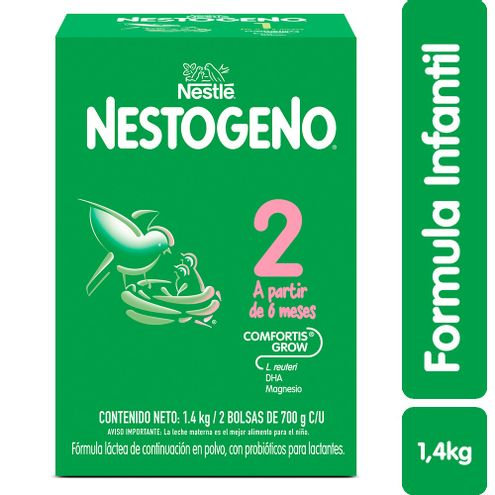 Comprar Fomula Infantil Nestogeno Etapa 2 6meses X 1400g