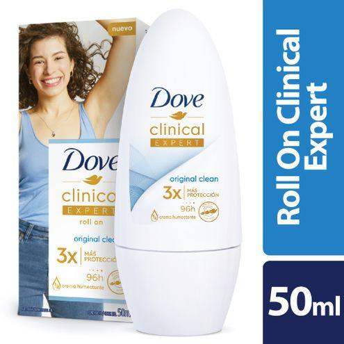 Comprar Desodorante Dove Clinical Expert Mujer Roll-On 50ml
