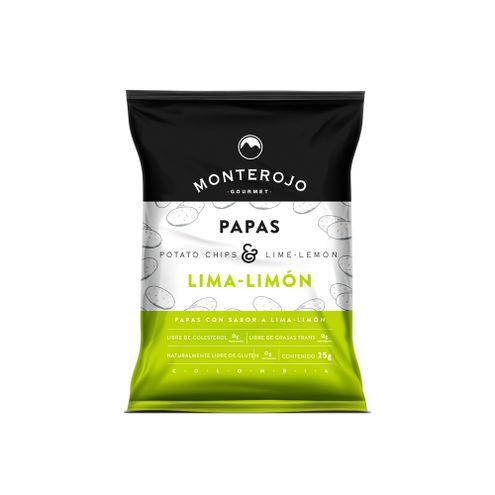 Comprar Papas Monterojo Lima-Limon X 25g