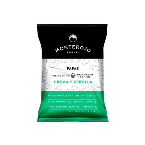 Comprar Papas Monterojo Crema Y Cebolla X 115g - Papas Monterojo Crema/Cebolla X115g