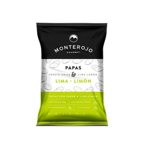 Comprar Papas Monterojo Lima-Limon X 115g